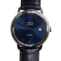 Omega De Ville Stainless Steel Blue Automatic 424.13.40.20.03.001