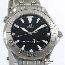 Omega Seamaster Americas Cup Limited Edition Box Papers