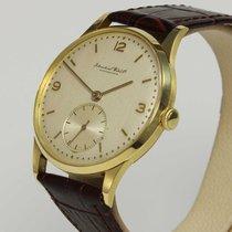 IWC seltene Vintage Uhr Kal. 88 von 1947 in 18K Gold