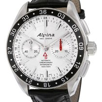 Alpina Alpiner 4 Chronograph Automatic GMT Mens Strap Watch...