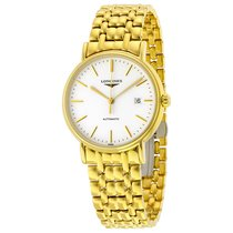 Longines Presence Automatic White Dial Mens Watch L49212128