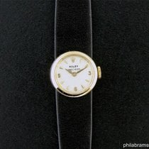 Rolex Vintage Precision Chameleon Cocktail Watch 14k Yellow Gold