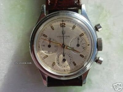 Universal Genve chronograph