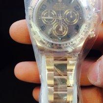 Rolex rose gold Daytona on bracelet