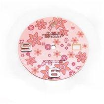 Rolex Datejust Floral Pink Zifferblatt