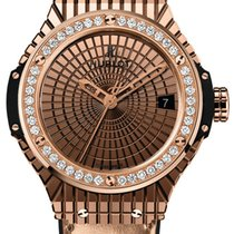 Hublot [NEW] Big Bang Gold Caviar Diamonds 346.PX.0880.VR.1204
