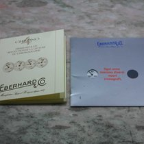 Eberhard & Co. vintage kit warranty booklet and papers...