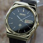 Seiko Grand Quartz Rare 1970s Mens Japanese Gold Plated Dress...