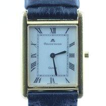 Maurice Lacroix Carree Damen Uhr Quartz 25mm Mit Leder Band 5