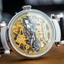 """IWC Schaffhausen marriage watch skeletonized """"Automobile&#..."""