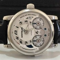 Montblanc Nicolas Rieussec Gmt Chronograph Automatico 43mm...