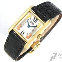 Cartier Tank Vermeil 925 Silber vergoldet -  Quarz - 23,2 g
