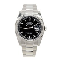 Rolex Datejust Stainless Steel Black Automatic 116200BK