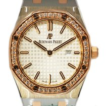Audemars Piguet Royal Oak Ladies Steel and Rose Gold