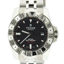Tudor Rotor Black Dial Automatic Stainless Steel