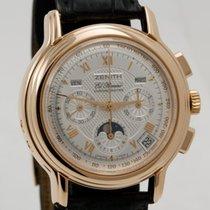 Zenith Chronomaster El Primero Chronograph Moon phase in 18K...
