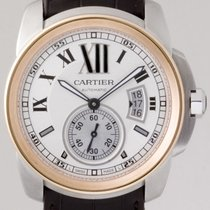 Cartier Calibre de Cartier Auto Steel/Gold Strap W7100039...