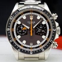 Tudor 70330N Heritage Chronograph Grey Dial SS / SS (25835)