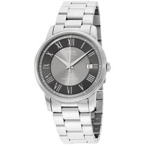 Mido Baroncelli Iii Stainless Steel Automatic Men's Watch...