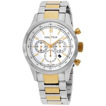 Nautica Silver Dial Stainless Steel Men's Watch N22618g