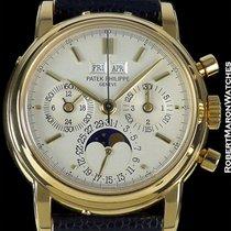Patek Philippe 3970 18k Perpetual Calendar Chronograph