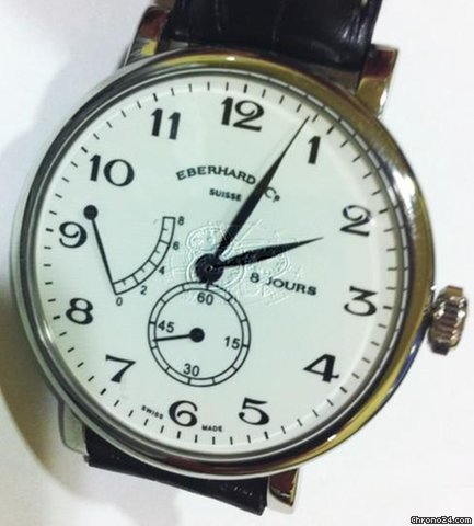 Eberhard &amp;amp; Co. 8 JOURS GRANDE TAILLE MENS WATCH