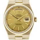 Rolex Day Date 19018 18K  Gold Oysterquartz Watch