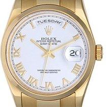 Rolex Men's Rolex President Day-Date Watch 118208 White Dial