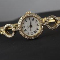 Chopard Diamanten Vollgold 18 Karat/750 er Gold Damenuhr #S