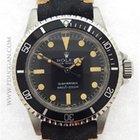 Rolex vintage 1979 stainless steel Submariner