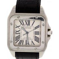 Cartier Men's Cartier Santos 100 XL Stainless Steel Watch...
