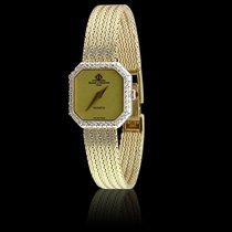 Baume & Mercier Diamond Bezel Woven Bracelet Watch
