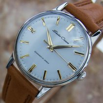 Seiko Crown 1950s Manual Mens Stainless Steel Made In Japan...