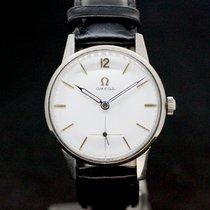 Omega White dial Super Zustand Handaufzug caliber 265 aus1950