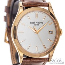 Patek Philippe Calatrava 5296R-010 18k Rose Gold Automatic...