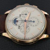 Universal Genève Chronograph Tri-Compax vintage 18k Pink gold...