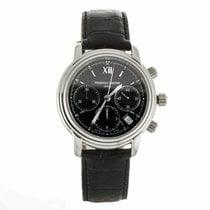 Frederique Constant Persuasion Chronograph Black Dial Watch...