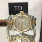 Rolex Ladies DateJust 26mm Steel and Yellow Gold Bezel Watch New