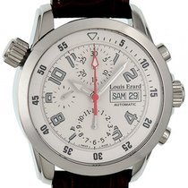 Louis Erard Sportive Chronograph Day Date Stahl Automatik 42mm