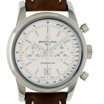 Breitling Transocean Chronograph Stahl Automatik 38mm
