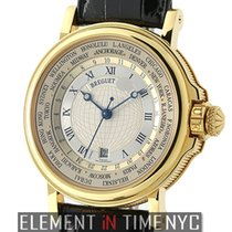 Breguet Marine Hora Mundi 24 Time Zones 18k Yellow Gold 38mm 2001