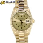Rolex Day-Date President Champagne Stick 18k Yellow Gold 36mm