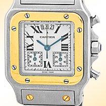 "Cartier ""Santos"" Chronograph."