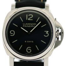 Panerai LUMINOR BASE 8 DAYS ACCIAIO - 44MM, Ref: Pam 00560