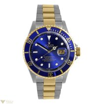 Rolex Submariner Two Tone Stainless Steel 18k Yellow Gold...