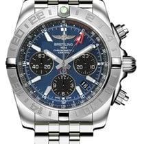 Breitling Chronomat 44 GMT Blackeye Blue Dial AB042011/C852-375A