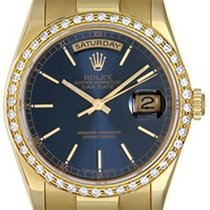 Rolex President Day-Date Men's Watch 118238 Blue Dial