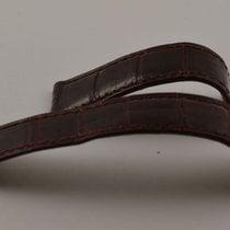 Cartier Leder Armband 17-16 Für Deployment Clasp 16mm Kroko