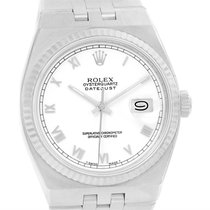 Rolex Oysterquartz Datejust Stainless Steel 18k White Gold...