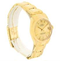 Rolex Date Midsize 14k Yellow Gold Vintage Unisex Watch 6627
